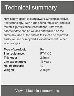 Altro Wood Safety Technical Summary 1