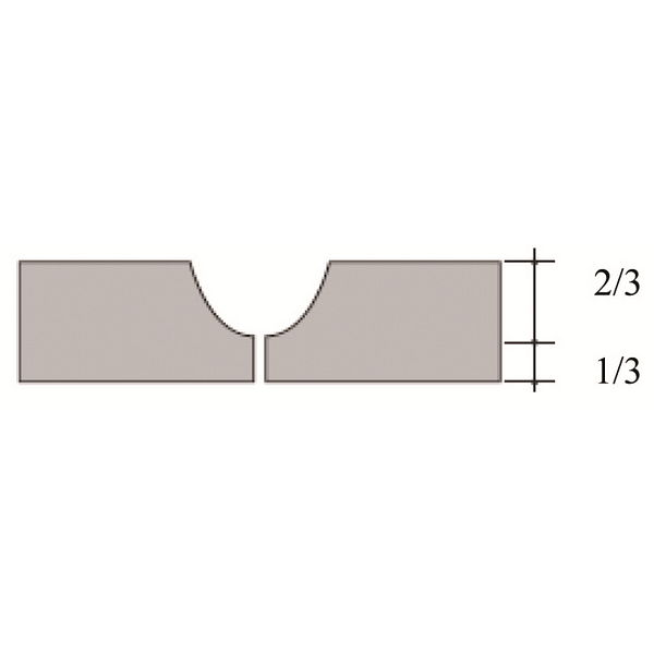 Rounded Groover 95175